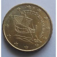 10 евроцентов, Кипр, 2008