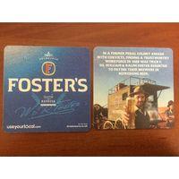 Подставка под пиво Foster's No 11 /Великобритания/