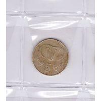 5 центов 1983 Кипр. Возможен обмен