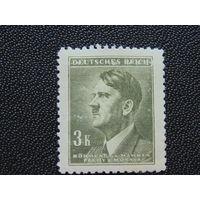 Германия. Рейх. Богемия и Моравия. 1942 г. Фюрер.