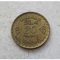 Марокко 20 франков 1371 (1952)