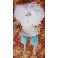 Тильда handmade дед Порфирий кукла текстильная