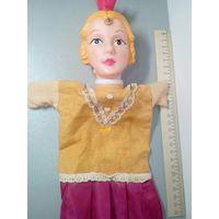 Кукла Принцесса 1 ГДР, театральная, на руку