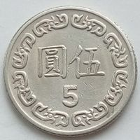 5 долларов 1981 ТАЙВАНЬ