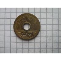 Япония 5 йен 1978г. y72a