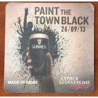 Подставка под пиво Guinness No 30