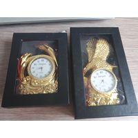 Сувенирные настольные часы.