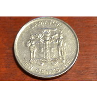 Ямайка 10 центов 1991