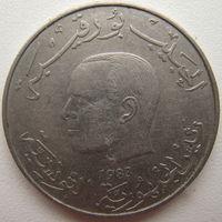 Тунис 1 динар 1983 г.