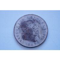 Старая монетка 1873  ,старая копия, 38 мм, не Китай