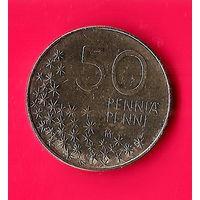 29-49 Финляндия, 50 пенни 1990 г