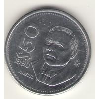 50 песо 1990 г.