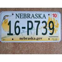 Номер автомобильный  Nebraska
