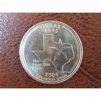 1/4 доллара 2004 США ( Квотер штата Техас ) D