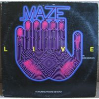 MAZE - LIVE IN LOS ANGELES --2LP - USA-   R&B   FUNK