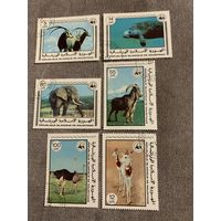Мавритания 1978. Дикие животные. Полная серия