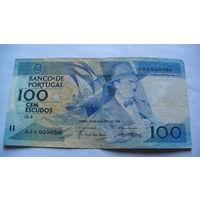 Португалия 100 эскудо 1986г.   распродажа