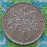 Ямайка 10 центов 1989 года. Инвестируй в монеты планеты!