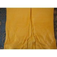 Юбка трикотажная цвет темный лимон размер 44-46