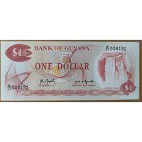 1 доллар 1992 года - Гайана - UNC