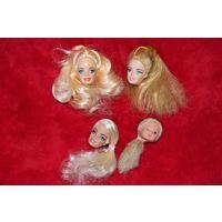 Головы от куклы Барби
