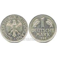 Германия (ФРГ) 1 deutsche mark 1974J, 1989J, 1990A, 1990F на выбор