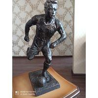 Статуэтка- Футболист. Силумин