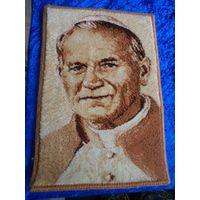 Настенный коврик Иоанн-Павел II 50*34 см