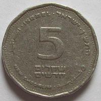 Израиль, 5 шекелей