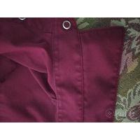 Шикарная бордовая рубашка