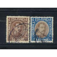 Дания Исландия Уния 1931 Христиан X Стандарт