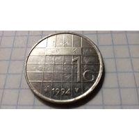 Нидерланды 1 гульден 1994