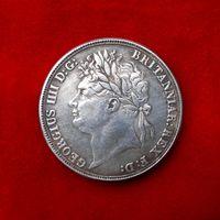 Крона. Georgius IIII (Британия, 1822 год)