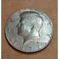 США. 1/2 доллара 1977
