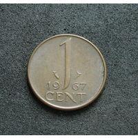 Нидерланды 1 цент 1967