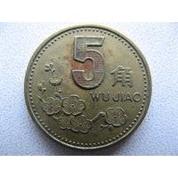 Китай 5 цзяо 2000 г.