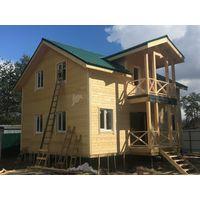 Уютный Каркасный дом под ключ 7х11м