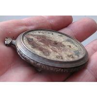 Часы старинные. Серебро