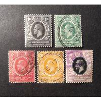 ВЕЛИКОБРИТАНИЯ\1314\ Британская восточная Африка и Уганда 1912