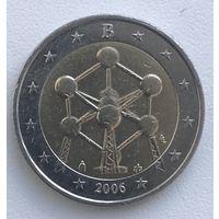 2 евро Бельгия 2006 г. Атомиум