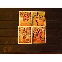 Нигер. 1984 спорт Олим. Игры. Лос Анжелес 1984.