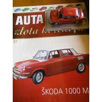 Обменяю  Skoda 1000 MB Zlota Kolekcja Auta PRL-u номер 37
