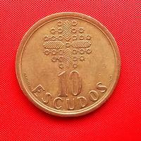 55-20 Португалия, 10 эскудо 1992 г.
