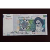 Иран 20000 риалов 2005 год UNC