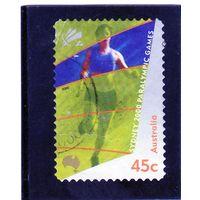Австралия.Ми-1941.Паралимпийские игры. Сидней. 2000.