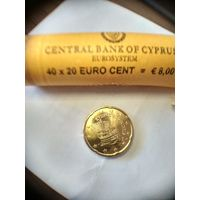 20 евроцентов Кипр 2010 год