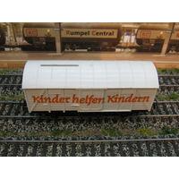 Вагон копилка Kleinbahn. Масштаб HO-1:87.