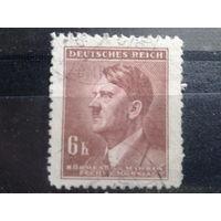 Богемия и Моравия 1942 фюрер 6 крон
