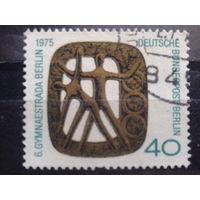 Берлин 1975 Гимнастика Михель-0,5 евро гаш