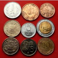 9 монеток - 9 стран. #128 Старт с 10 копеек